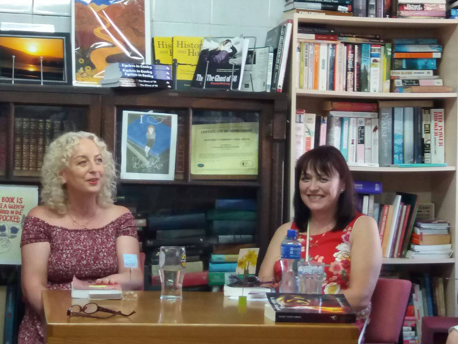 Reading with Author Cathy Cole The Book Corner, Rostrevor, Co.Down